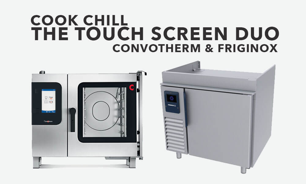 convotherm 4 and friginox the cook chill touch screen duo