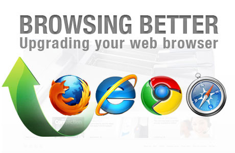 Upgrading your web browser